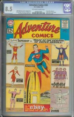 ADVENTURE COMICS #300 CGC 8.5 OWithWH PAGES
