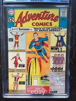ADVENTURE COMICS #300 CGC VF+ 8.5 OW-W Tales of the Legion of Super-Heroes