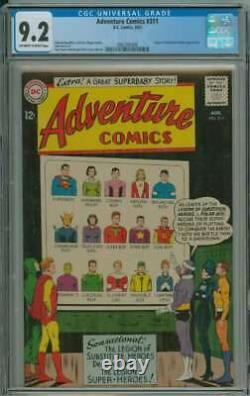 ADVENTURE COMICS #311 CGC 9.2 OWithWH PAGES