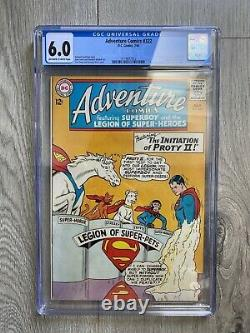 ADVENTURE COMICS 322 CGC 6.0 OWithW PAGES LEGION OF SUPER PETS