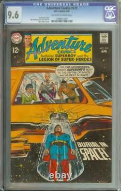 ADVENTURE COMICS #379 CGC 9.6 OWithWH PAGES