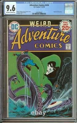 ADVENTURE COMICS #436 CGC 9.6 OWithWH PAGES