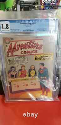 Adventure Comics 247 CGC 1.8 OWP to white 1st Legion Appearance Silver Age DC