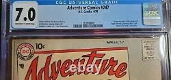 Adventure Comics #247 CGC 7.0 First Legion of Super-Heroes Top 10 Silver Age