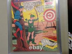Adventure Comics #258 9.0 CGC 1st Oliver Queen and Star City. Highest Graded