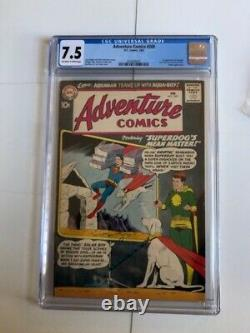 Adventure Comics #269 CGC 7.5 Off-white to white pages 1960 1st app. Aqualad