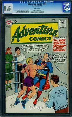 Adventure Comics #273 1960 Certified 8.5 SOFT TOUCH