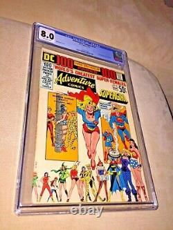 Adventure Comics #416, CGC 8.0, Off White Pages