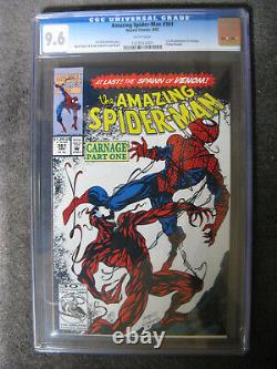 Amazing Spiderman #361, 1st full appearance of Carnage. CGC 9.6