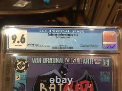 BATMAN ADVENTURES 12 1st Appearance Harley Quinn CGC 9.6 WHITE PAGES KEY