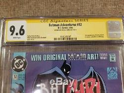 Batman Adventures # 12 CGC 9.6 1st Appearance of Harley Quinn signed Bruce Timm