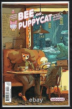 Bee And Puppycat 1,2,3,4,6,7, Huge 17 Variant, Sketch, Signed, Adventure Time, Cgc