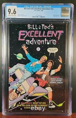 Bill & Ted's Excellent Adventure #1 RARE First Appearance in Comics -CGC 9.6