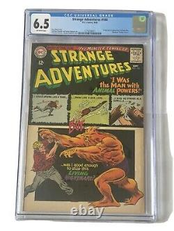 CGC 6.5 Strange Adventures #180 -1st Appearance and Origin of Animal Man