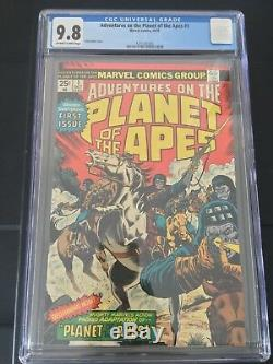 Marvel Comics Adventures on The Planet of the Apes #1 1975 CGC 9.8