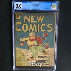 NEW COMICS #1 (DC 1935) CGC 3.0 19 in CENSUS! Becomes Adventure Comics