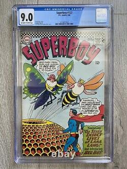 SUPERBOY 127 CGC 9.0 OWithW PAGES 1st APP / ORIGIN INSECT QUEEN