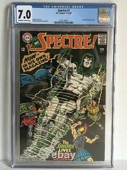 Spectre # 1 Comic Book DC Comics CGC 7.0 Off-White to White Pages