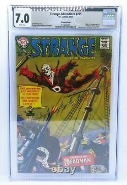 Strange Adventures #205-GREEN RIVER PEDIGREE CGC 7.0 F/VF 1st appearance Deadman