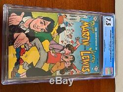 The Adventures of Dean Martin and Jerry Lewis #1 COMIC BOOK 1952 Graded 7.5