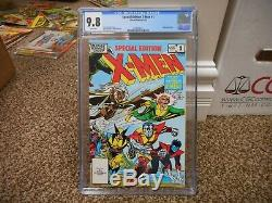 X-Men Special Edition 1 cgc 9.8 Marvel 1983 Giant 1st adventure of new Wolverine